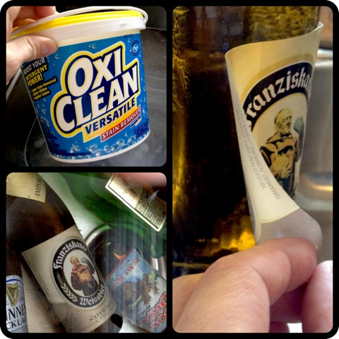 How to Remove Labels from Beer Bottles
